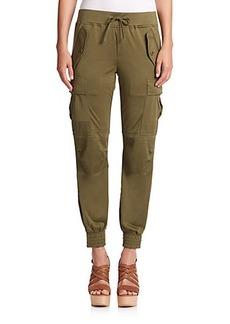 Polo Ralph Lauren Silk Jersey Cargo Pants