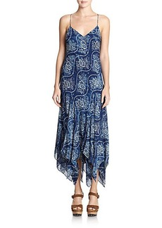 Polo Ralph Lauren Silk Printed Dress