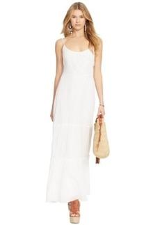 Polo Ralph Lauren Sleeveless Tiered Maxi Dress