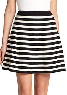 Polo Ralph Lauren Striped A-Line Skirt