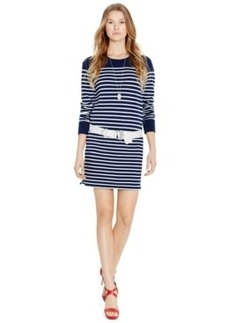 Polo Ralph Lauren Striped Crew-Neck Dress