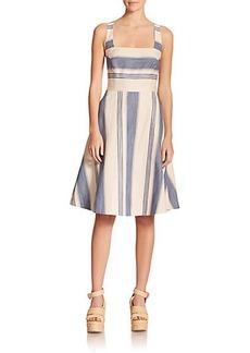 Polo Ralph Lauren Striped Fit-&-Flare Dress