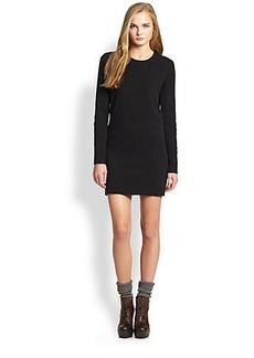 Polo Ralph Lauren Suede-Patch Sweater Dress