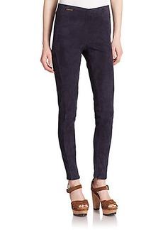 Polo Ralph Lauren Suede Skinny Pants