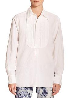 Polo Ralph Lauren Textured-Bib Shirt