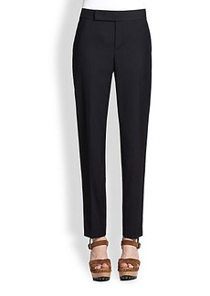 Polo Ralph Lauren Wool & Silk Tuxedo Pants
