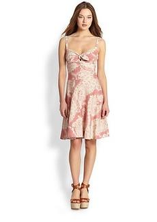 Polo Ralph Lauren Linen Floral Dana Dress