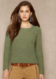 Rib-Knit Crewneck Pullover