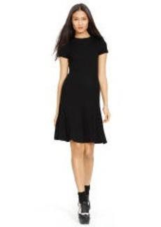 Rib-Knit Wool Dress