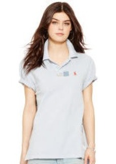 Ripped & Repaired Polo Shirt