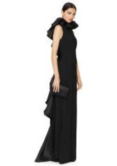 Ruffled Venizia Gown