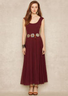 Scoopneck Jersey Maxidress