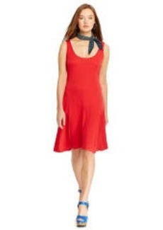 Scoopneck Sleeveless Dress