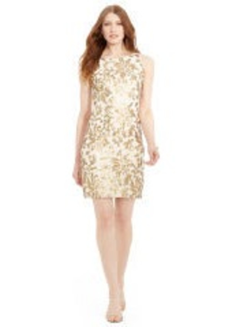 ralph lauren sequined lace dress abvba78e47c zoom - Western Wedding Hats
