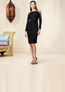 Silk Alastair Lace-Up Dress