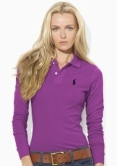 Skinny-Fit Stretch Polo Shirt