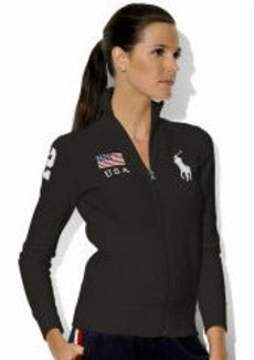 "Skinny-Fit ""USA"" Track Jacket"