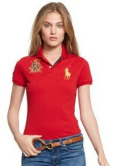 Skinny Patch Stretch Polo