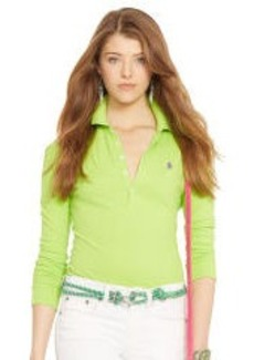 Skinny Stretch Polo Shirt
