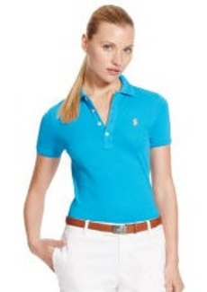 Slim-Fit Short Sleeve Polo