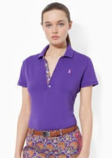 Stretch Pima Cotton Polo Shirt