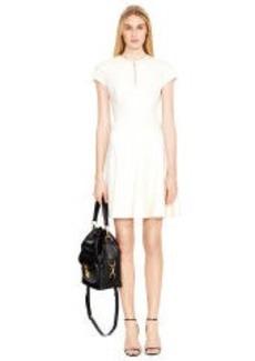 Stretch-Wool Adleigh Dress