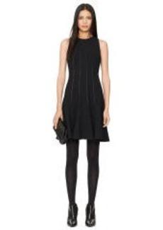 Stretch-Wool Clarissa Dress