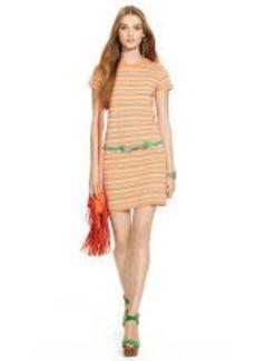 Striped Jersey Tee Dress