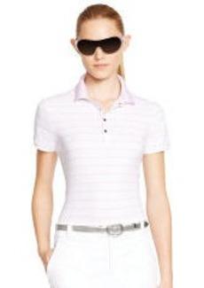 Striped Stretch Polo Shirt