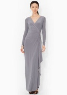 Surplice Jersey Gown