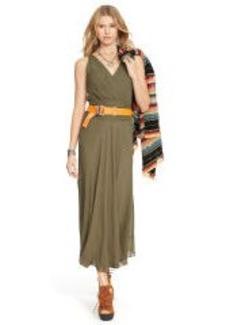 Surplice Wrap Dress