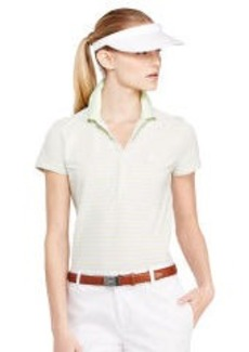 Tailored-Fit Striped Polo