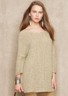Textured Boatneck Pullover