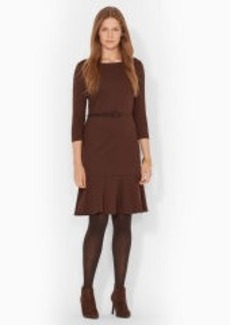 Three-Quarter-Sleeved Dress