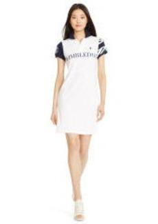 Wimbledon Mesh Polo Dress