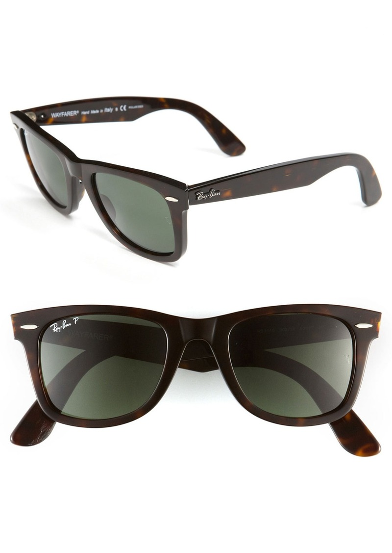 ray ban ray ban 39 classic wayfarer 39 50mm polarized sunglasses sunglasses shop it to me. Black Bedroom Furniture Sets. Home Design Ideas