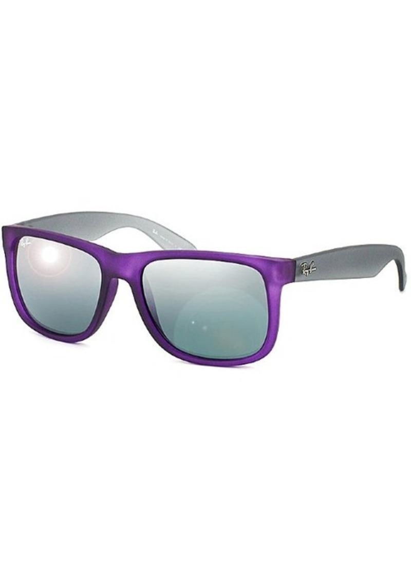 dc73114155 Ray Ban Justin Gray Mirror Lenses Sunglasses « Heritage Malta