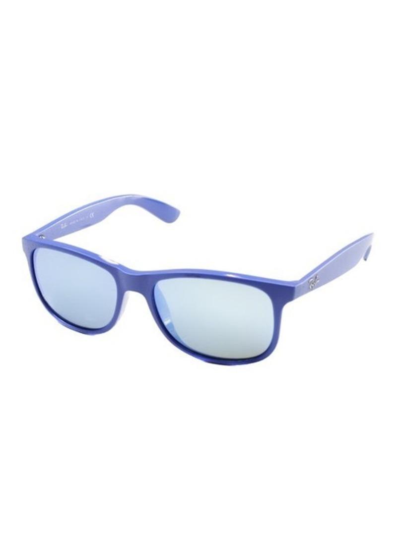 Blue Mirrored Ray Ban Aviators Ix3m