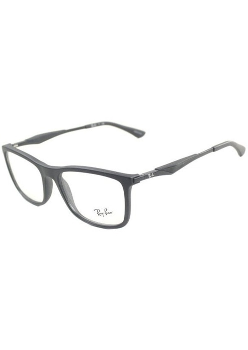 ray ban eyeglasses matte black