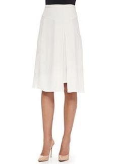 Crepe Asymmetric Skirt   Crepe Asymmetric Skirt