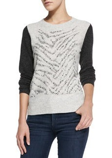 Long-Sleeve Liger Stud Pullover   Long-Sleeve Liger Stud Pullover