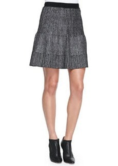 Metallic Pleated Skirt   Metallic Pleated Skirt