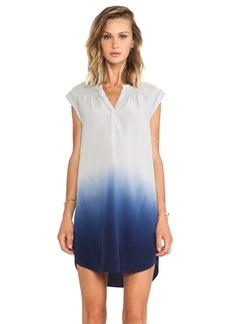 Rebecca Taylor Dip Dye Silk Ombre Dress