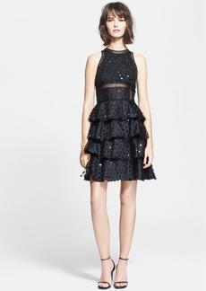 Rebecca Taylor Dot Sequin Dress