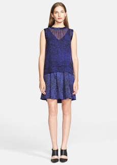 Rebecca Taylor Double Layer A-Line Dress