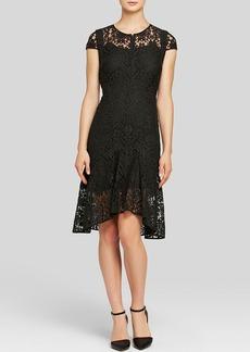Rebecca Taylor Dress - Cap Sleeve Lace