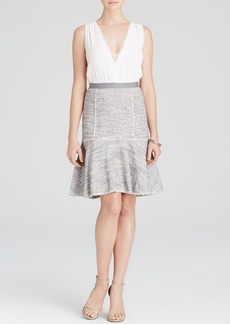 Rebecca Taylor Dress - Crepe and Tweed