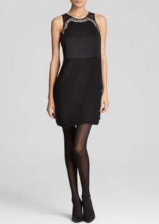 Rebecca Taylor Dress - Sleeveless Modern Deco Embellished