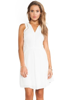 Rebecca Taylor Embroidered Circles Dress