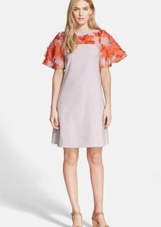 Rebecca Taylor Floral Organza Dress
